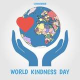 Día de la amabilidad del mundo stock de ilustración