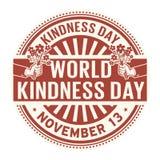 Día de la amabilidad del mundo, el 13 de noviembre ilustración del vector