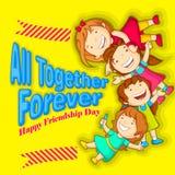Día de la amistad Imagen de archivo libre de regalías
