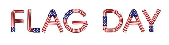 Día de la bandera libre illustration