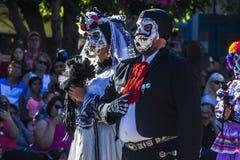 Día de la celebración muerta Fotografía de archivo