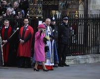 Día de la Commonwealth de las marcas de la reina Elizabeth II Imagen de archivo libre de regalías