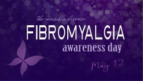 Día de la conciencia del Fibromyalgia Imagen de archivo