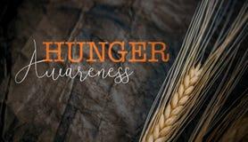 Día de la conciencia del hambre imagen de archivo