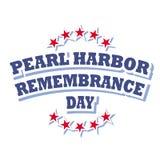 Día de la conmemoración del Pearl Harbor Imagen de archivo libre de regalías