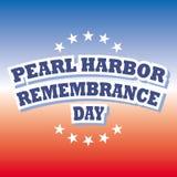 Día de la conmemoración del Pearl Harbor Imágenes de archivo libres de regalías