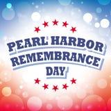Día de la conmemoración del Pearl Harbor Foto de archivo libre de regalías