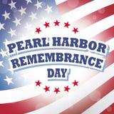 Día de la conmemoración del Pearl Harbor Fotos de archivo