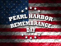 Día de la conmemoración del Pearl Harbor fotografía de archivo