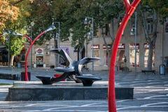 Día de la conmemoración en Baku Imagenes de archivo