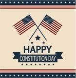 Día de la constitución Imagen de archivo libre de regalías