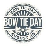 Día de la corbata de lazo, el 28 de agosto libre illustration