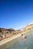 Día de la diversión en la playa imagen de archivo libre de regalías