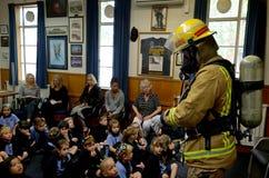 Día de la educación de la seguridad contra incendios Fotografía de archivo