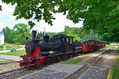 Día de la guerra civil en el ferrocarril escénico de Hesston Foto de archivo
