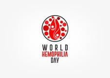 Día de la hemofilia del mundo libre illustration