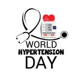 Día de la hipertensión del mundo libre illustration