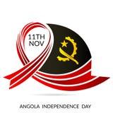 Día de la Independencia de Angola ilustración del vector