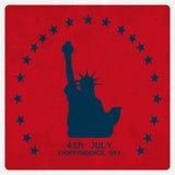Día de la Independencia de julio Fotografía de archivo libre de regalías
