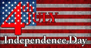 Día de la Independencia de los E.E.U.U. Imágenes de archivo libres de regalías