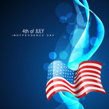 Día de la Independencia el 4 de julio libre illustration