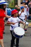 Día de la Independencia en Costa Rica Fotografía de archivo libre de regalías