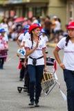 Día de la Independencia en Costa Rica Imágenes de archivo libres de regalías
