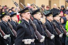 Día de la Independencia en Vilna Foto de archivo libre de regalías