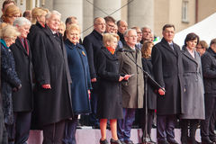 Día de la Independencia en Vilna Foto de archivo