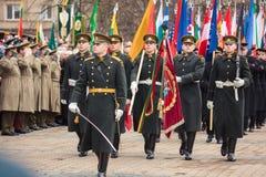Día de la Independencia en Vilna Imagen de archivo