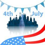 Día de la Independencia Estados Unidos libre illustration