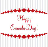 ¡Día de la Independencia feliz! Foto de archivo libre de regalías