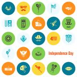 Día de la Independencia de los Estados Unidos Fotos de archivo