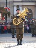 Día de la Independencia, Lublin, Polonia Imagenes de archivo