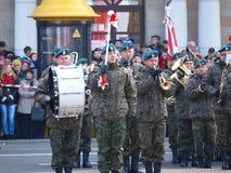 Día de la Independencia, Lublin, Polonia Foto de archivo