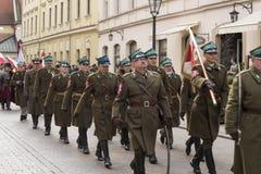 Día de la Independencia nacional, Kraków, Polonia 2017 Imagen de archivo