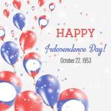 Día de la Independencia de la república Democratic del ` s de Lao People libre illustration