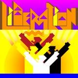 Día de la liberación Imagen de archivo libre de regalías