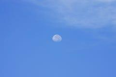 Día de la luna Foto de archivo libre de regalías