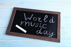 Día de la música del mundo fotografía de archivo