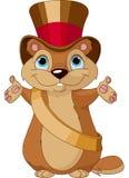 Día de la marmota libre illustration