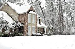 Día de la nieve Fotografía de archivo