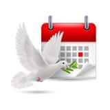Día de la paz Foto de archivo