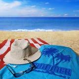 Día de la playa Fotografía de archivo libre de regalías