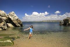 Día de la playa Foto de archivo libre de regalías