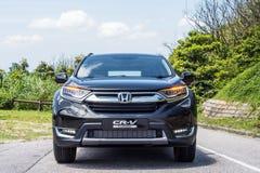Día de la prueba de conducción de Honda CR-V 2017 Imagen de archivo