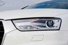 Día de la prueba de conducción de Audi Q3 30 TFSI 2017 Imagenes de archivo