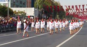 Día de la república de celebraciones de Turquía Fotografía de archivo