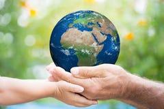 Día de la Tierra Imágenes de archivo libres de regalías