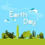 Día de la Tierra Forest Tree Nature Landscape verde Fotos de archivo